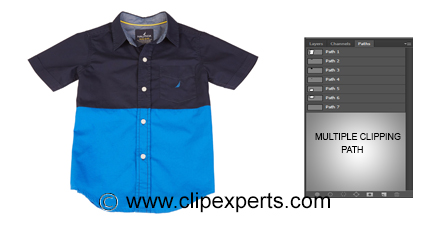 Multiple clipping path-Clipexperts